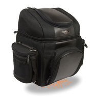 "15"" SISSY T BAR TOUR BAG w/ FOUR POCKETS & RAIN COVER - SA27"