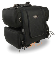 "17"" W SISSY T BAR BAG w/ FOUR POCKETS & RAIN COVER - SA28"
