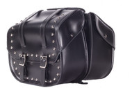 "15"" W x 13"" H WATERPROOF HARD SADDLEBAGS SET - D03"