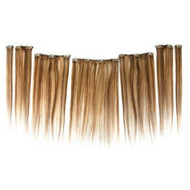 "20"" Clip in 7 Piece Human Hair Extensions"