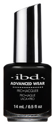 IBD Advanced Wear Black Lava 14ml