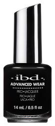 IBD Advanced Wear Black Lava 14ml