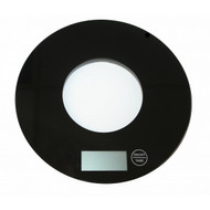 Black Digital Round Scale (Weston Imports)