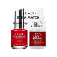 IBD Gel Polish & Lacquer  Duo - Bing Cherries