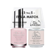 IBD Gel Polish & Lacquer  Duo - I'm No Damsel
