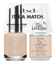 IBD Gel Polish & Lacquer  Duo - But First