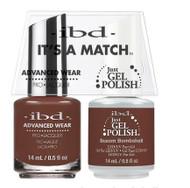 IBD Gel Polish & Lacquer  Duo - Buxom Bombshell