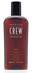 American Crew 3-in-1 Shampoo, Conditioner & Body Wash 450ml