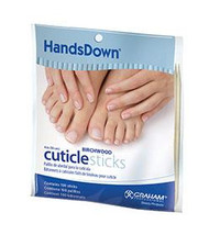 "Handsdown 4"" Cuticle Sticks 100pk"