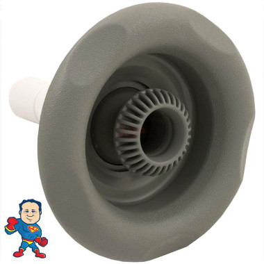 "5"" Power Storm Jet Waterway 5 Scallop Directional Gray"