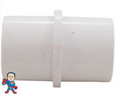 "This part can be used to glue 2 pieces of 1 1/2"" ID PVC Pipe back together. It measures 1 1/2"" OD on both sides and will glue inside of standard size 1 1/2"" PVC pipe that will measure about 1 1/2"" ID and 1 7/8"" OD"