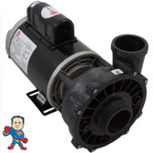 "Pump Waterway Executive True 3.0hp 230v 2-spd 56fr 2"" 12 Amp Note: Do Not Purchase a pump based on a HP Sticker compare the Amperage to the chart. See the sticker below for an example of where to find amperage."