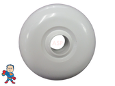 "2 1/2"" Eyeball Fitting HydraBaths Smooth White Bath Tub"