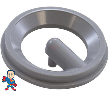 "Retaining Ring, HydroAir, Duo Blaster, Roto, Gray, For 1 3/4"" Face"