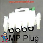 This is an example of the shape of this Amp Plug..