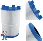 "Dimension One Filter, Cartridge, 75 sqft, 2""ob w/twist lock Bottom, 7-1/8"" Wide, 10-1/2"" Tall,  Fits Butterfly Twist Style"