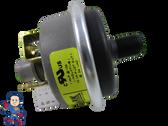 "Pressure Switch 3903-DF, 1A, Tecmark, 1/8""mpt, SPST, Field Adjustable"