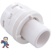 "Jet Internal, Waterway, Poly Jet, Cage Style, White, 2"" face diameter"