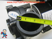 """The inlet and outlet measures about 3"""" across the threads.  Complete Pump, Aqua-Flo, XP2, 1.5HP, 230v, 48 frame, 2""""x 2"""", 1 or 2 Speed"""
