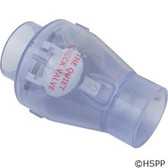 "Check Valve, Magic Plastics Smart Check, 2""s, 1/2 lb, Water"
