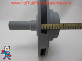 Impeller, Vico Ultima, Ultra Flo, 2.0hp, 10 Amps High Speed 230V or 16 Amps 115V