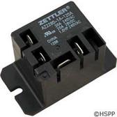 Power Relay, Zettler, SPST, 30A, 115v, Mini, Z2280-1A-120A