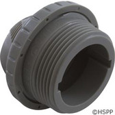 "Inlet Fitting, Infusion Venturi, 1-1/2""mpt, Lt Gray"