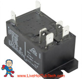 Relay, T-92, DPST, 30A, 115v, Coil