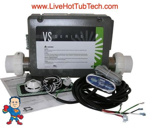 CONTROL RETROFIT KIT BALBOA VS501Z, 2 PUMP ,5.5KW,115V ... on balboa heater, spa diagram, balboa control panel, balboa control diagram, balboa schematic,