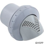 "Inlet Fitting, Infusion Venturi, 1-1/2"" Insider, Lt Gray"