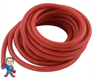 """Air Tubing, 1/8""""ID x 1/4""""OD, 10ft Roll Used For Air Button, Air Button Style Topside and Switches"""
