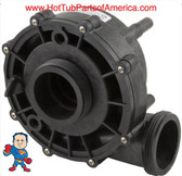 """Complete Wet End, Aqua-Flo ,XP2, Xp2e, 2.0HP, 2""""x 2"""" , 56fr, fits Motors with 10.0A/230V 6.3"""" The Suction and Pressure sides both Measure about 3"""" Across the threads!"""