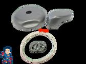 "Diverter Valve 4"" Kit JACUZZI® Premium Spa O-Rings Cap Handle Hot Tub"
