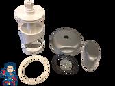 "Diverter Valve 4"" Kit JACUZZI® Premium Spa O-Rings Cap Handle Stem Hot Tub"