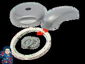 "Diverter Valve 4"" Kit 2007+ JACUZZI® Premium Spa Cap, Handle & O-Rings Hot Tub"