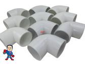 """10x Hot Tub Spa 90° ELL 2"""" Slip X Slip Plumbing PVC Fitting How To Video"""