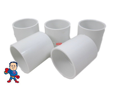 "5X Hot Tub Spa 2"" Slip X 2"" Slip Coupler Plumbing PVC Fitting"