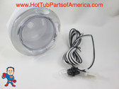 """Spa Hot Tub Light Lens 5"""" Face 12V Bulb with Wire Lense Standard How To Video"""