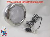 "Spa Hot Tub Chrome Light Lens 5"" Face Standard 12V Bulb Wire Lense How To Video"