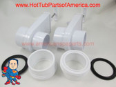 "Set of (2) Heater Union 2"" &  2"" Slice Gate Valve Kit How To Video"