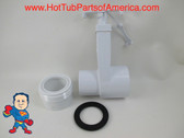 """Hot Tub Spa Gate Slice Valve 1 1/2"""" & 1 1/2"""" Heater Union How To Video"""