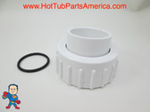 "Set of 2 Hot Tub Spa 1"" X 1"" Slip Pump Union O-Ring Use Tiny Might other Video"