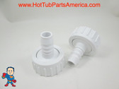 "Set of 2 Hot Tub Spa 1"" X 3/4"" Barb Pump Union O-Ring use Tiny Might other Video"