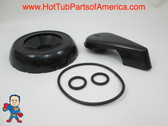Diverter Valve Spa Black Hot Tub O-Rings Cap Handle Waterway CMP How To Video
