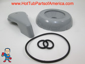Diverter Valve Spa Gray Hot Tub O-Rings Cap Handle Waterway CMP How To Video