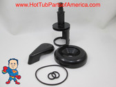 Diverter Valve Spa Smooth Black Stem O-Rings Cap Handle Hot Tub How To Video