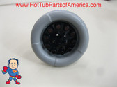 "Master Spa 7 5/8"" Down East Hot Tub Gray Jet Balboa Blaster Part Video How To"