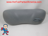 Maax Spa Hot Tub Neck Pillow Gray Head Rest Coleman How To Video
