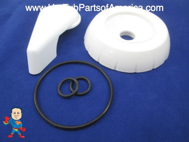 Diverter Valve Spa White Buttress Hot Tub O-Rings Cap Handle Waterway CMP Video