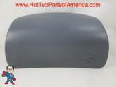 Spa Hot Tub Neck Pillow Watkins Caldera 1220 (2) Tabs Gray